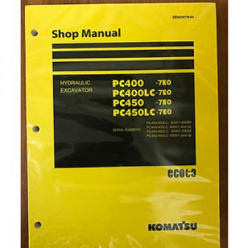 Komatsu Costa Rica  PC400-7E0 PC400LC-7E0 PC450-7E0 PC450LC-7E0 Service Repair  Manual