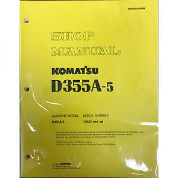 Komatsu Bahamas  D355A-5 Service Repair Workshop Printed Manual