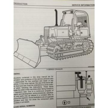 Dressta Moldova, Republic of  Komatsu Dresser TD7H TD8H TD9H Dozer Shop Service Manual High SN