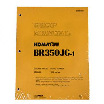 Komatsu Vietnam  Service BR350JG-1 Mobile Crusher Repair Manual