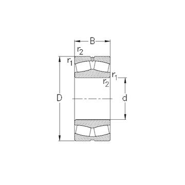 22256-MB-W33 NKE Spherical Roller Bearings