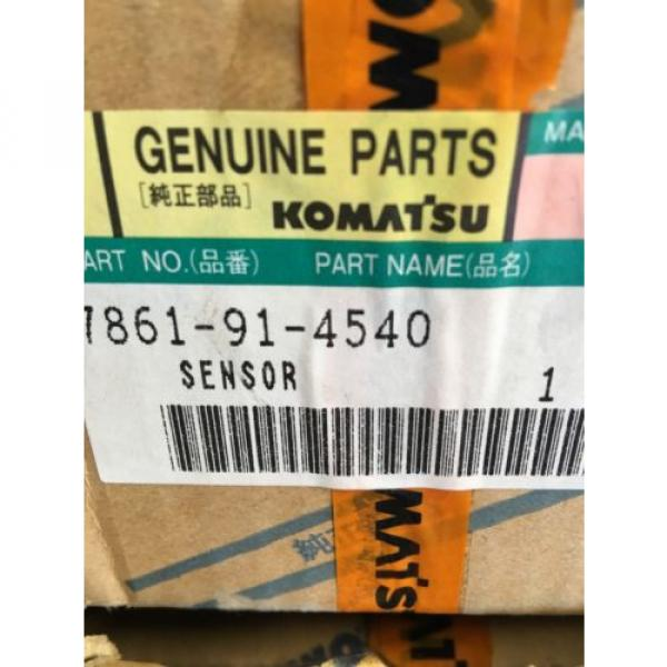 7861-91-4540 Botswana  Genuine Komatsu Water Level Sensor #2 image