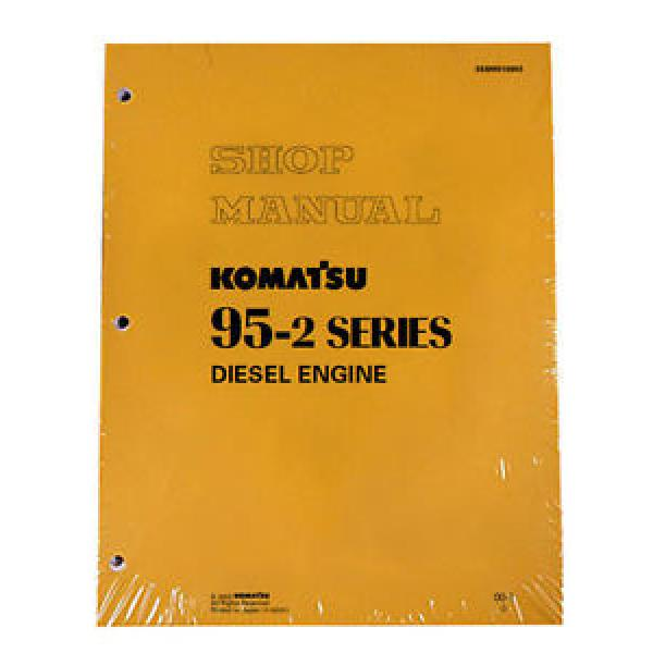 Komatsu Belarus  Service Diesel Engines 95-2 Series Shop Manual #1 image