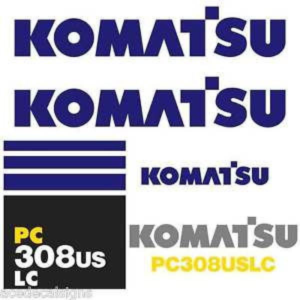 PC308USLC Guyana Decals PC308US Stickers Komatsu Decals Komatsu Stickers- New Decal Kit #1 image