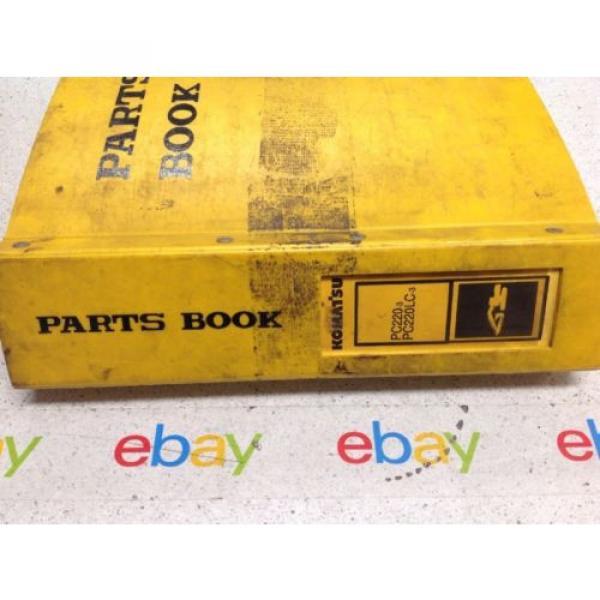 Komatsu Liechtenstein PC220-3,PC220LC-3 Hydraulic Excavator Parts Book PEPE02060301 #5 image