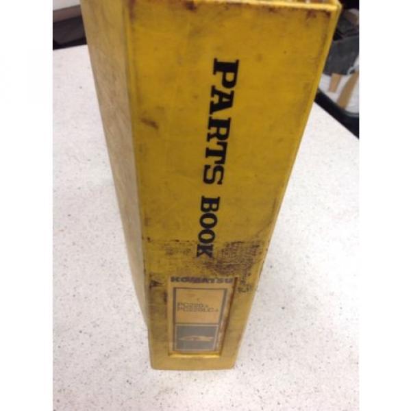 Komatsu Liechtenstein PC220-3,PC220LC-3 Hydraulic Excavator Parts Book PEPE02060301 #7 image