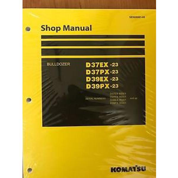 Komatsu Liechtenstein D39EX-23 D39PX D37EX D37PX Dozer Bulldozer Shop Repair Service Manual #1 image