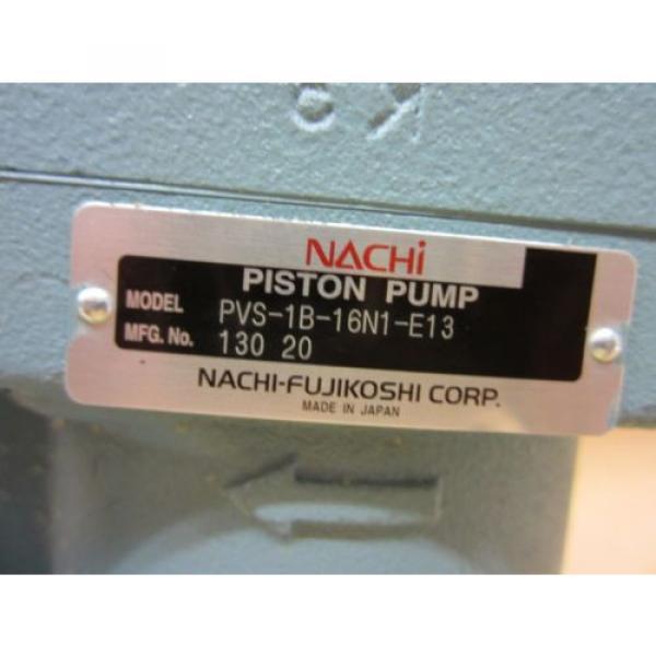 NACHI CzechRepublic PISTON PUMP PVS-1V-16N1-13E #2 image