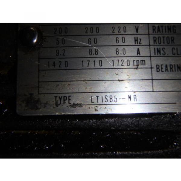Nachi Grenada Variable Vane Pump Motor_VDR-1B-1A3-1146A_LTIS85-NR_UVD-1A-A3-22-4-1140A #7 image