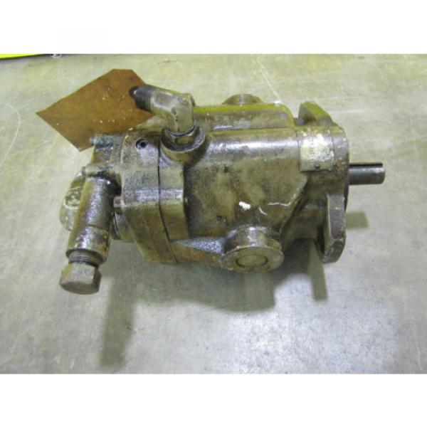 REBUILT Russia  VICKERS F3PVP15FLSY31CM11 HYDRAULIC PUMP 7/8#034; SHAFT DIA 1-1/4#034;NPT IN/OUT #6 image
