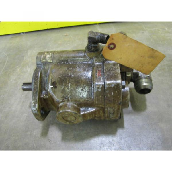 REBUILT Russia  VICKERS F3PVP15FLSY31CM11 HYDRAULIC PUMP 7/8#034; SHAFT DIA 1-1/4#034;NPT IN/OUT #8 image
