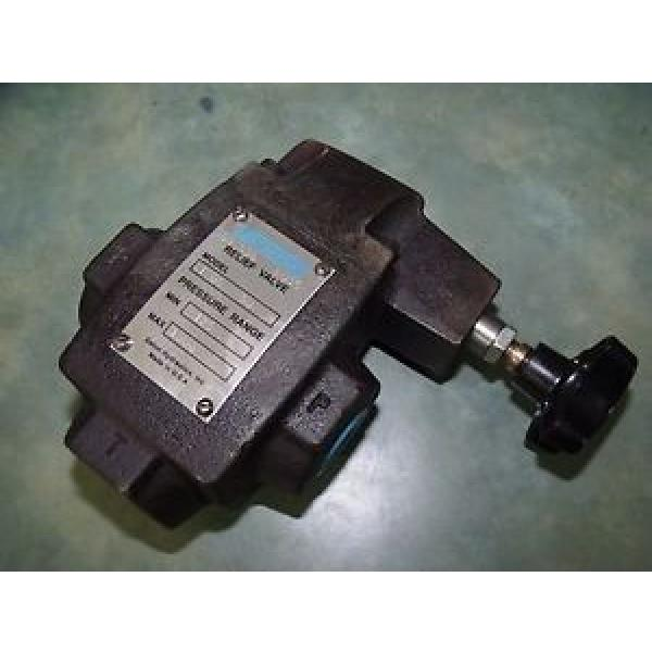 Vickers Gambia 590536 CT 06 50 Hydraulic Relief Valve 125-1000psi 3/4#034; NPTF #1 image