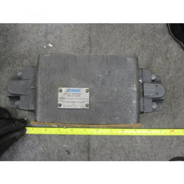 origin Hongkong Vickers Hydraulic Pilot Operated Check Valve # DGPC-06-DB-51 #1 image