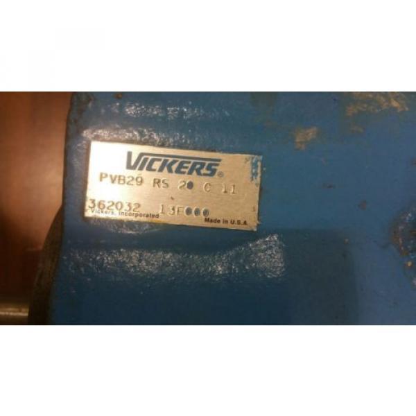 Vickers Honduras PVB29-RS-20-C11 Hydraulic Pump #2121SR #4 image