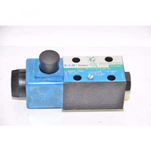 Vickers Brazil  DG4V-3S-2A-M-U-B5-60 Hydraulic Directional Valve 02-109632 02-101726 #1 image