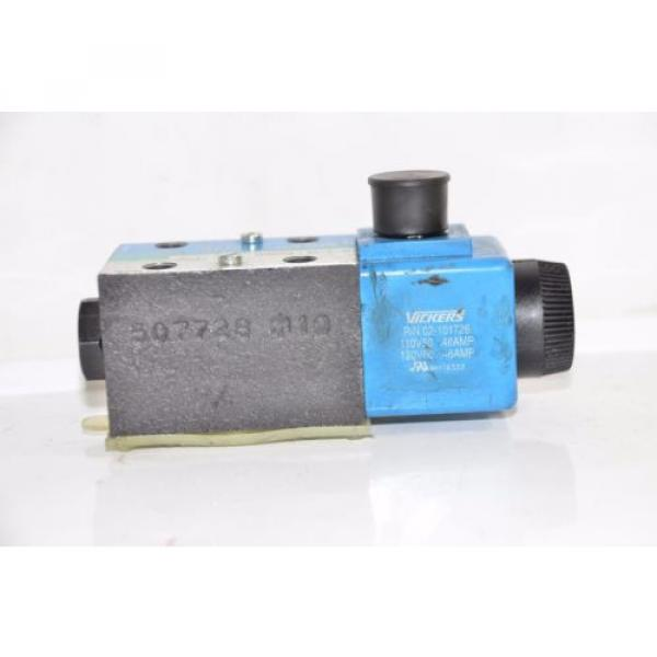 Vickers Brazil  DG4V-3S-2A-M-U-B5-60 Hydraulic Directional Valve 02-109632 02-101726 #4 image