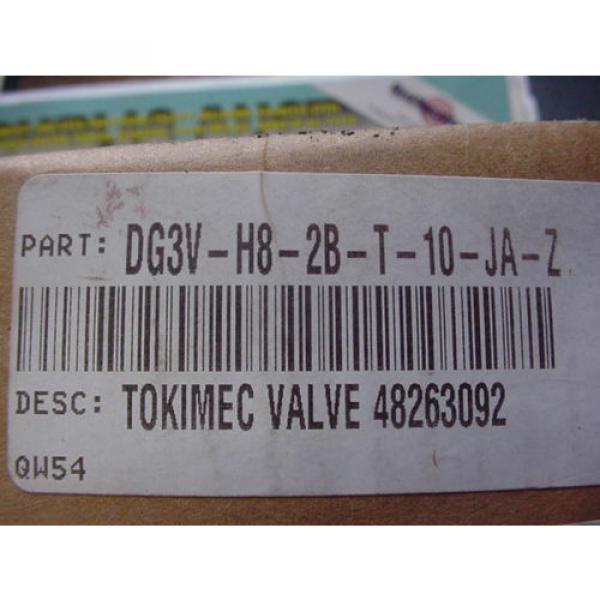 VICKERS SolomonIs TOKIMEC HYDRAULIC VALVE DG3V H8 2B T 10 JA Z Origin IN BOX 48263092 #3 image