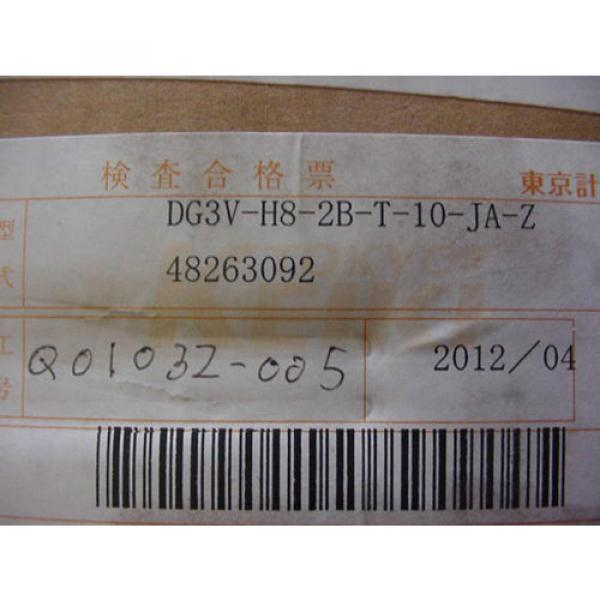 VICKERS SolomonIs TOKIMEC HYDRAULIC VALVE DG3V H8 2B T 10 JA Z Origin IN BOX 48263092 #4 image