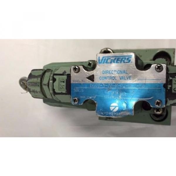 VICKERS Guyana HYDRAULIC DIRECTIONAL CONTROL VALVE DG4V-3-2A-M-P2-B-7-50 H439 #1 image