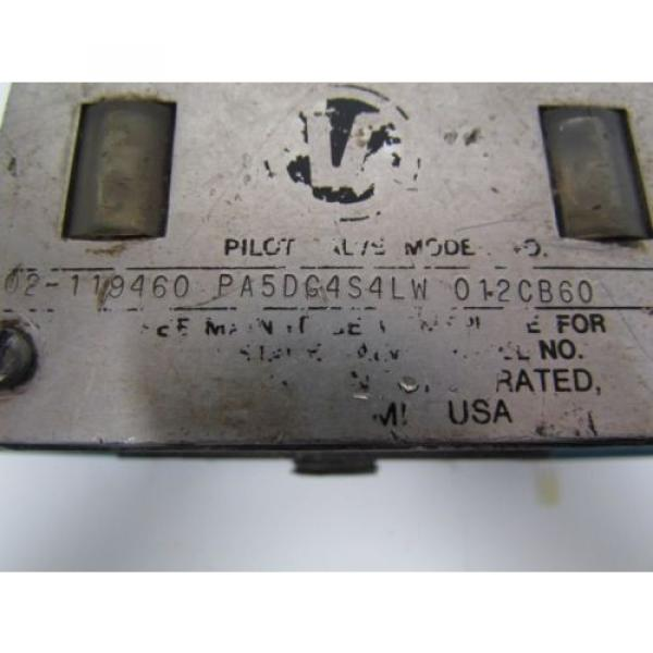Vickers Argentina 02-119460 PA5DG4S4LW 01CB60 Hydraulic Directional Control Valve #11 image