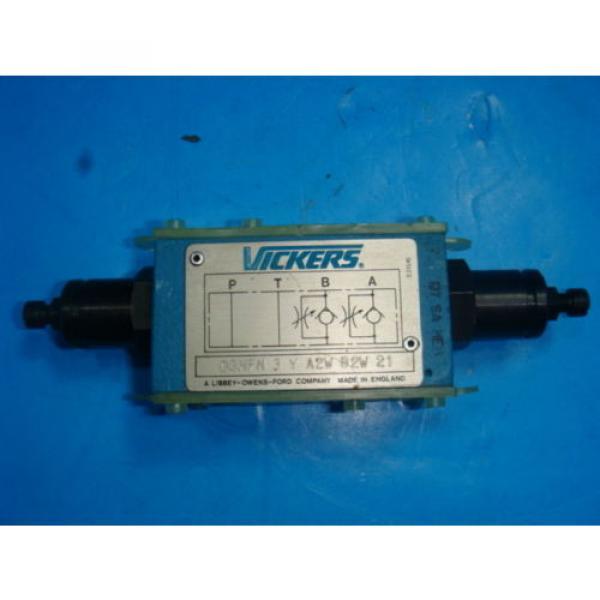 Origin Azerbaijan Vickers DGMFN 3 Y A2W B2W 21 Hydraulic Directional Control Valve NNB #1 image