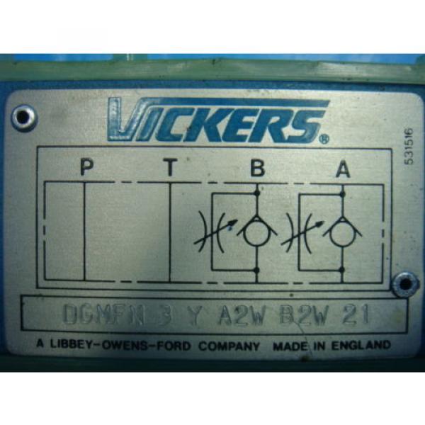 Origin Azerbaijan Vickers DGMFN 3 Y A2W B2W 21 Hydraulic Directional Control Valve NNB #5 image