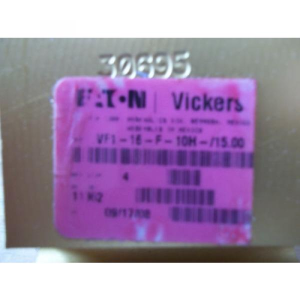Origin Vietnam  EATON VICKERS VF1-16-F-10H-/1500 HYDRAULIC FLOW REGULATOR 02176283 #2 image