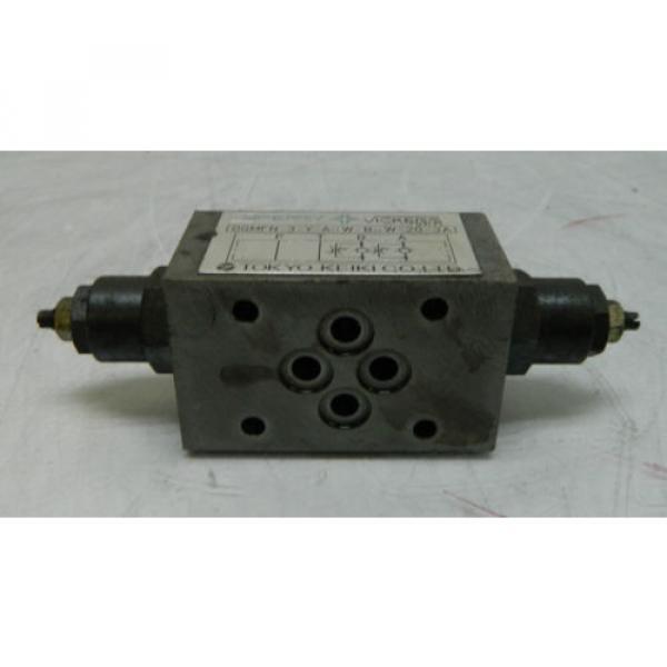Vickers Niger Hydraulic Valve, DGMFN-3-Y-A2W-B2W-20-JA, Used, WARRANTY #2 image