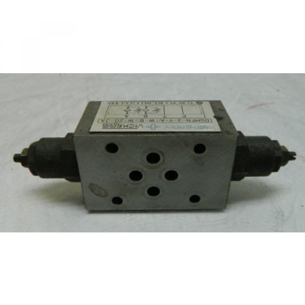 Vickers Niger Hydraulic Valve, DGMFN-3-Y-A2W-B2W-20-JA, Used, WARRANTY #3 image