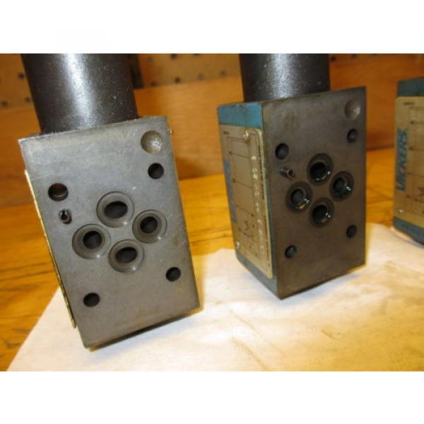 Vickers France DGMX2-3-PP-CW-20-B Hydraulic Valve LOT OF 3 SystemStak Pressure Reducing #7 image
