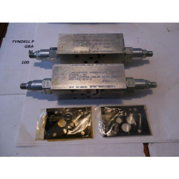Continental Gibraltar Hydraulics Flow Control Valve with Check  N5S-NDC-G-S-B origin  Two #1 image