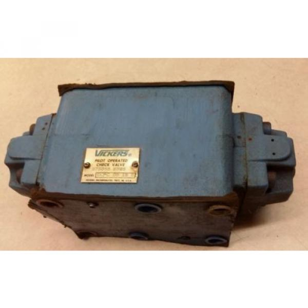 Vickers Cuinea Pilot Operated Check Valve DGPC 06 AB 51 #1 image