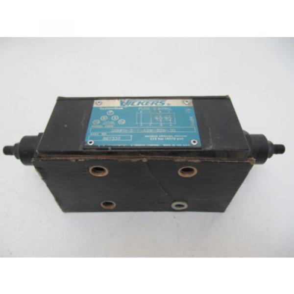 Origin Guyana Vickers SystemStak Flow Control DGMFN-5-Y-A2W-B2W-30  867332 #3 image