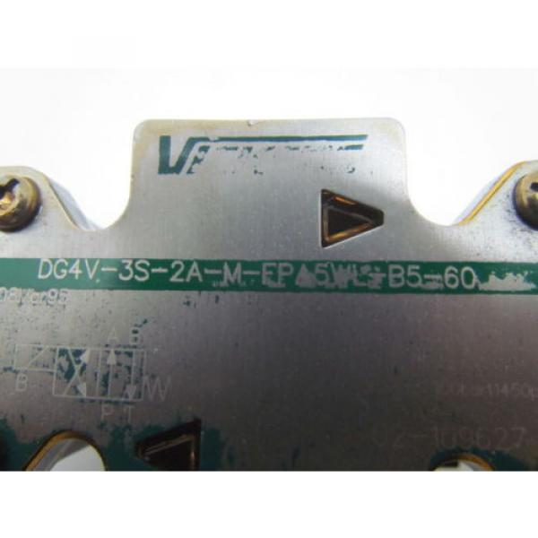 Eaton Cuba Vickers DG4V-3S-2A-M-FPA5WL-B5-60 Control Valve 120V coil #10 image