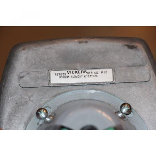 Eaton Liechtenstein  Vickers 737632 OFR120P30 Hydraulic Return Line Filter 400psi origin #3 image