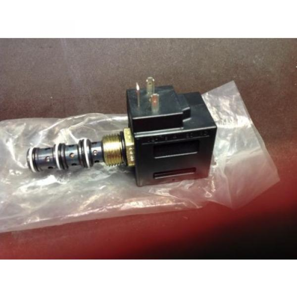 Vickers Niger hydraulic valve solenoid coil 120 VAC 02-178114 Assembly Origin   $99 #3 image