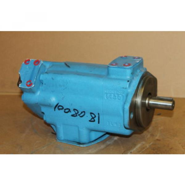 Hydraulic Luxembourg vane double pump, 17GPM/11GPM, 3000PSI, 2520VQ17A5-1AA20 Vickers #1 image