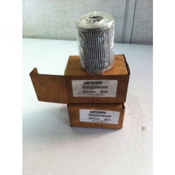 LOT Niger OF 2 V0272B1C10 VICKERS HYDRAULIC FILTER #1 image