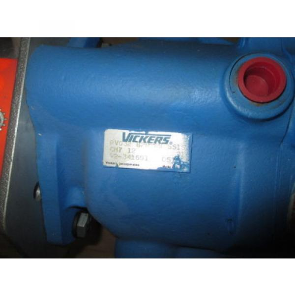 Origin Russia  VICKERS HYDRAULIC PUMP PV032 B2R PV013 A2R WITH BALDOR MOTOR 7 1/2 HP #2 image