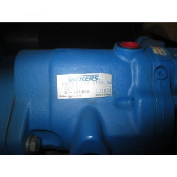 Origin Russia  VICKERS HYDRAULIC PUMP PV032 B2R PV013 A2R WITH BALDOR MOTOR 7 1/2 HP #5 image
