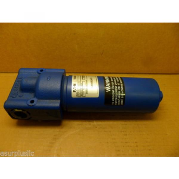 VICKERS Gambia  HF2P4SA1ONB2H03 HYDRAULIC FILTER ASSEMBLY WITH BYPASS 4000 PSI NIB #1 image