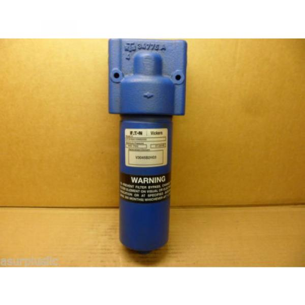 VICKERS Gambia  HF2P4SA1ONB2H03 HYDRAULIC FILTER ASSEMBLY WITH BYPASS 4000 PSI NIB #2 image