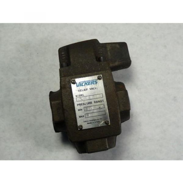 Vickers Netheriands CT06B50 Relief Valve 125-1000 PSI 3/4 #1 image