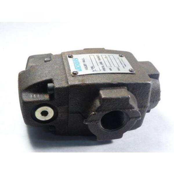 Vickers Netheriands CT06B50 Relief Valve 125-1000 PSI 3/4 #3 image
