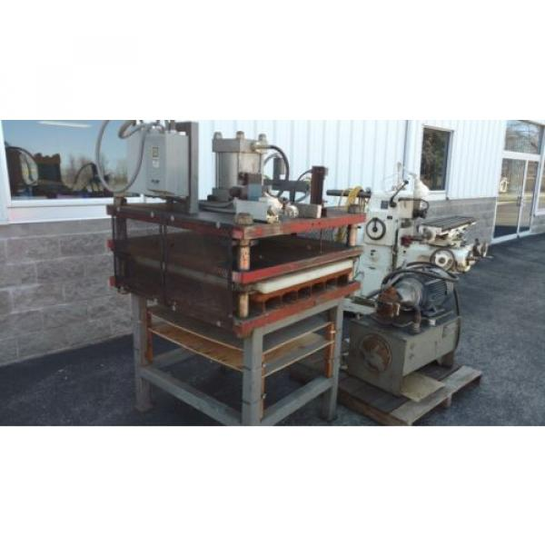 25 Liberia Ton Hydraulic Down-acting Press die cutter 36#034;  Vickers Hydraulic Power pack #1 image