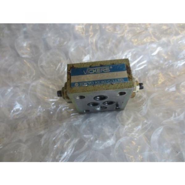 MATSUURA Fiji MC-1000VS CNC TOKYO KEIKI VICKERS FN1M-3A-30-JA FN1M3A30JA VALVE BLOCK #1 image