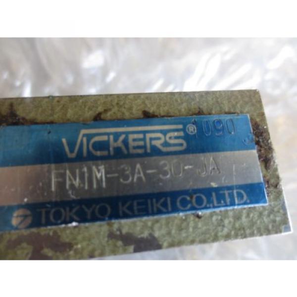 MATSUURA Fiji MC-1000VS CNC TOKYO KEIKI VICKERS FN1M-3A-30-JA FN1M3A30JA VALVE BLOCK #2 image