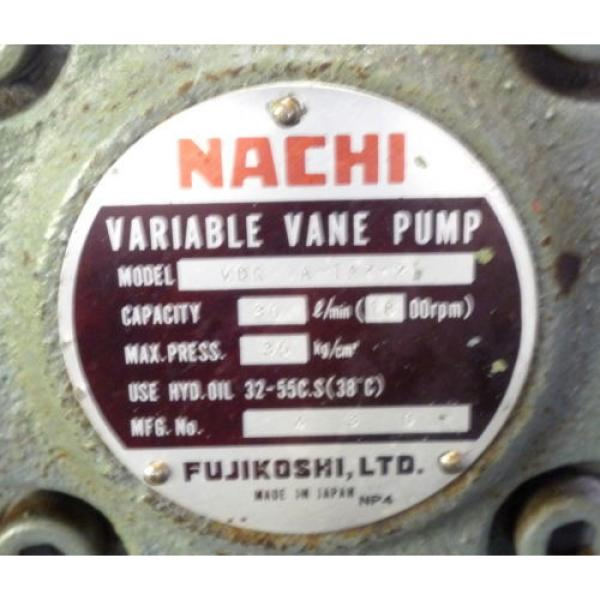 SHOWA Romania  VDRU-1A-40BHX 212 Hydraulic Power Unit NACHI VDR-1A-1A2-21 Pump OKUMA LB15 #3 image
