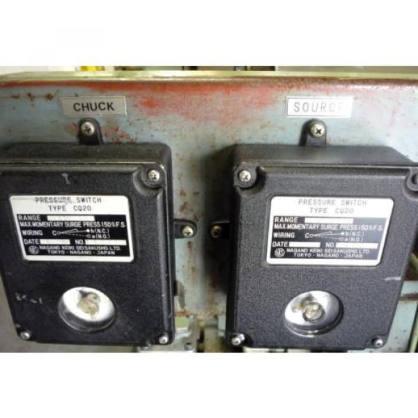 SHOWA Romania  VDRU-1A-40BHX 212 Hydraulic Power Unit NACHI VDR-1A-1A2-21 Pump OKUMA LB15 #4 image