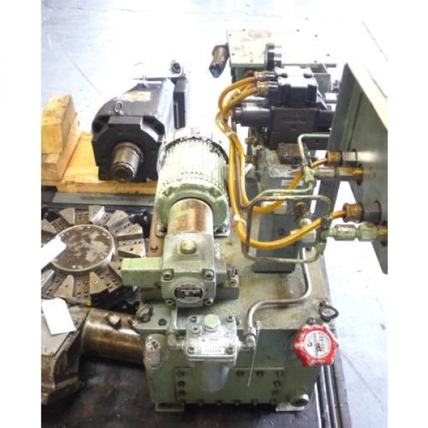 SHOWA Romania  VDRU-1A-40BHX 212 Hydraulic Power Unit NACHI VDR-1A-1A2-21 Pump OKUMA LB15 #8 image